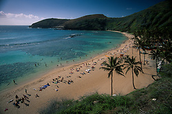 Hanauma Bay, Oahu, Hawaii, US