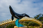 Whale Overlook Sculpture In Cabrillo National Monument Point Loma
