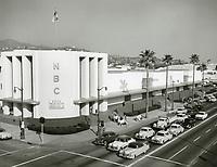 1956 NBC Radio City on the NE corner of Sunset Blvd. & Vine St.
