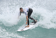 Gisborne's Saffi Vette wins the Open Women's Division final at the<br /> Surfing New Zealand National Championships 2021. Piha Beach, Auckland, New Zealand. Saturday 16 January 2021.<br /> © image by Andrew Cornaga / www.Photosport.nz