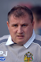 Photo: Paul Greenwood.<br />Wigan Athletic v Liverpool. The Barclays Premiership. 02/12/2006. Wigan manager Paul Jewell