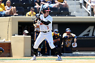 WINSTON-SALEM, NC - JUNE 02: Maryland's Zach Jancarski. The West Virginia University Mountaineers played the University of Maryland Terrapins on June 2, 2017, at David F. Couch Ballpark in Winston-Salem, NC in NCAA Division I College Baseball Tournament Winston-Salem Regional Game 1. West Virginia won the game 9-1.