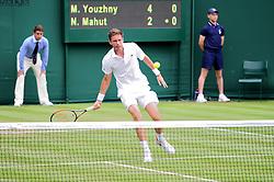 July 4, 2017 - Wimbledon, Angleterre - nicolas mahut (Credit Image: © Panoramic via ZUMA Press)