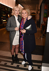 Jennifer Saunders and her daughter Ella Edmondson at Fashioned From Nature held at The V&A Museum, London, England. 18 April 2018.