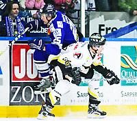 Ishockey , 22. Januar 2008 , GET-ligan , Sparta - Stavanger , Jiri Jantovsky Sparta , Michael Pudlick Stavanger , Foto: Thomas Andersen , Digitalsport