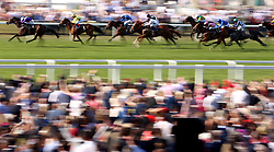Dash of Spice ridden by Silvestre De Sousa wins the Duke of Edinburgh Stakes during day four of Royal Ascot at Ascot Racecourse.