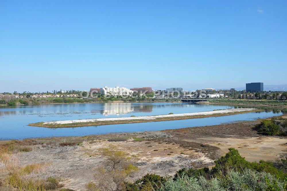 Upper Newport Bay Looking Towards Irvine
