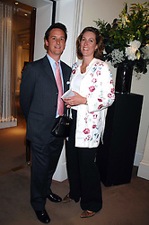 The DUKE & DUCHESS OF ARGYLL at the Sotheby's Summer Party 2007 at their showrooms in New Bond Street, London on 4th June 2007.<br /><br />NON EXCLUSIVE - WORLD RIGHTS