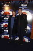 """Roger Daltrey and Pete Townshend. The DVD Screening of """"The Who: Quadrophenia And Tommy Live"""" at the Curzon Mayfair on November 2, 2005 in London,. ONE TIME USE ONLY - DO NOT ARCHIVE © Copyright Photograph by Dafydd Jones 66 Stockwell Park Rd. London SW9 0DA Tel 020 7733 0108 www.dafjones.com"""