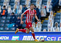 BLACKBURN, ENGLAND - Saturday, January 16, 2021: Stoke City's Rhys Norrington-Davies during the Football League Championship match between Blackburn Rovers FC and Stoke City FC at Ewood Park. The game ended in a 1-1 draw. (Pic by David Rawcliffe/Propaganda)