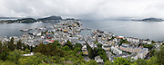 The Tall Ships Races Ålesund. High resolution Panorama.