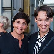 NLD/Amsterdam/20130903 - Inloop premiere Stiletto 2, Anne van Veen en …………
