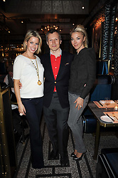 Left to right, CAROLINE STANBURY, LEONID SHUTOV owner of Bob Bob Ricard and TAMARA BECKWITH at a party to celebrate the 1st anniversary of Gift-Library.com held at Bob Bob Ricard, 1 Upper James Street, London on 19th November 2009.