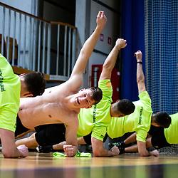 20210531: SLO, Ice Hockey - Players testing at first practice of HK SZ Olimpija