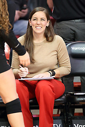 18 November 2016:  Melissa Myers during an NCAA women's volleyball match between the Northern Iowa Panthers and the Illinois State Redbirds at Redbird Arena in Normal IL (Photo by Alan Look)