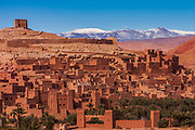 Ait Benhaddou. Between Marrakesh and the Sahara desert, just over the High Atlas mountains is the fascinating and highly photogenic ighrem or fortified trading town, used (and repaired for) a huge range of films, from Game of Thrones, Gladiator and The Mummy to The Living Daylights and The Man Who Would Be King. The Kasbah is now a UNESCO world heritage site and worth exploring up to the fort on the hilltop