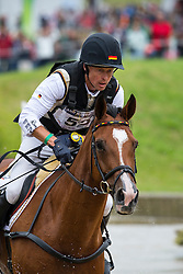 Peter Thomsen, (GER), Horsewares Barny - Eventing Cross Country test - Alltech FEI World Equestrian Games™ 2014 - Normandy, France.<br /> © Hippo Foto Team - Leanjo de Koster<br /> 31/08/14