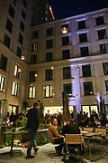 Mannheim. 14.10.19   Merito im Hilton<br /> Innenstadt. Hotel Hilton Garden Inn. Merito. Business Netzwerk Treff. Hilton Hotel auf dem ehemaligen Post Gelände.<br /> Bild: Markus Prosswitz 14OCT19 / Photo-Proßwitz   masterpress (Bild ist honorarpflichtig - No Model Release!) <br /> BILD- ID 081  