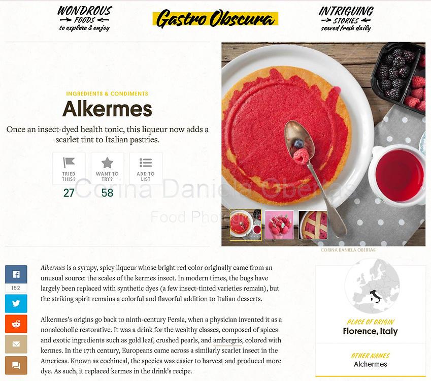 Alchermes foto published on AtlasObscura.com
