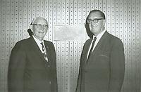 1970 C.E. Toberman & his son Homer Toberman