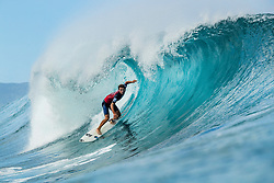 December 16, 2018 - Pupukea, Hawaii, U.S. - Jesse Mendes (BRA) advances to Round 3 of the 2018 Billabong Pipe Masters after winning Heat 9 of Round 2. (Credit Image: © Kelly Cestari/WSL via ZUMA Wire)