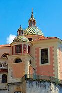 Resort town of Atrani ; Amalfi Coast ; Italy