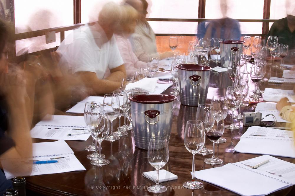 Wine tasting. Bacalhoa Vinhos, Azeitao, Portugal