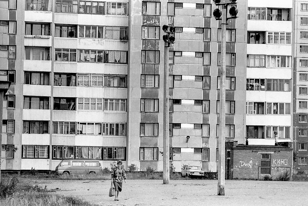 RussiaCommunist block of flats<br /> St Petersburg, Russia