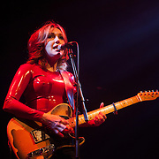 Viv Albertine in concert at the Queen Eliszabeth Hall, the Purcell Room.