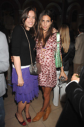Left to right, CRESSIDA WILSON and ZARA SIMON at the Quintessentially Summer Party at the Wallace Collection, Manchester Square, London on 6th June 2007.<br />