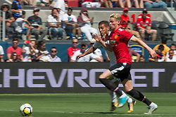 July 23, 2017 - Santa Clara, CA, USA - Santa Clara, CA - Sunday July 23, 2017: In an International Champions Cup (ICC) match after a 1-1 draw Manchester United beat Real Madrid 2-1 in a penalty shootout at Levi's Stadium. (Credit Image: © Celso Bayo/ISIPhotos via ZUMA Wire)