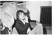 David Bailey, Private view of Lord Lichfield wedding pictures. Ritz. October 1981. SUPPLIED FOR ONE-TIME USE ONLY> DO NOT ARCHIVE. © Copyright Photograph by Dafydd Jones 248 Clapham Rd.  London SW90PZ Tel 020 7820 0771 www.dafjones.com