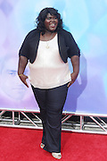 Gabourey Sidibe at Tyler Perry's special New York Premiere of ' I Can Do Bad all By Myself ' held at the School of Visual Arts Theater on September 8, 2009 in New York City.