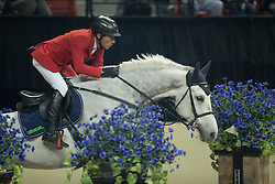 Dreher Hans Dieter, (GER), Cool and Easy<br /> Longines FEI World Cup™ Jumping Final III round 1<br /> Las Vegas 2015<br />  © Hippo Foto - Dirk Caremans<br /> 19/04/15