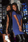 """l to r: June Ambrose and Joy Bryant at BET's 5th Annual Rip the Runway hosted by Joy Bryant and Derek Luke held at Hammerstein Ballroom on February 21, 2009 in New York City. ..RIP THE RUNWAY showcases the latest trends in fashion, hip accessories, music and the hottest models on the runway. Returning for its fifth season, BET partners with the leading urban designers including Akoo, Protege', Korto Momolu (from Bravo's """"Project Runway""""), and Johnny Vincent Swimwear to bring viewers an exclusive front row seat to the finest fashion show in town."""