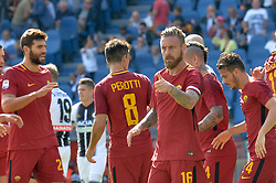 September 23, 2017 - Rome, Italy - Daniele De Rossi during the Italian Serie A football match between A.S. Roma and Udinese at the Olympic Stadium in Rome, on september 23, 2017. (Credit Image: © Silvia Lore/NurPhoto via ZUMA Press)