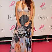 NLD/Amsterdam/20110929 - Inloop Estee Lauder Pink Ribbon Award Gala 2011 in de Beurs van Berlage, Monique Klemann
