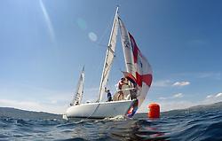 Silvers Marine Scottish Series 2017<br /> Tarbert Loch Fyne - Sailing<br /> <br /> GBR4270, Sigmatic, Donald & Anita Mclaren, Helensburgh SC<br /> <br /> Credit Marc Turner / PFM