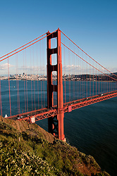Marin Headlands; sightseeing; Golden Gate Bridge, San Francisco, California, USA.  Photo copyright Lee Foster.  Photo # california108752