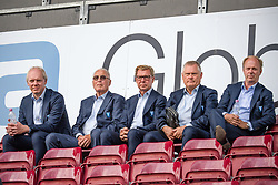 July 23, 2018 - Cluj, Romania - i180723 Board members of MalmÅ¡ FF during a practice ahead the UEFA Champions League qualifying match between Cluj and MalmÅ¡ FF on July 23, 2018 in Cluj..Photo: Ludvig Thunman / BILDBYRN / kod LT / 35508 (Credit Image: © Ludvig Thunman/Bildbyran via ZUMA Press)