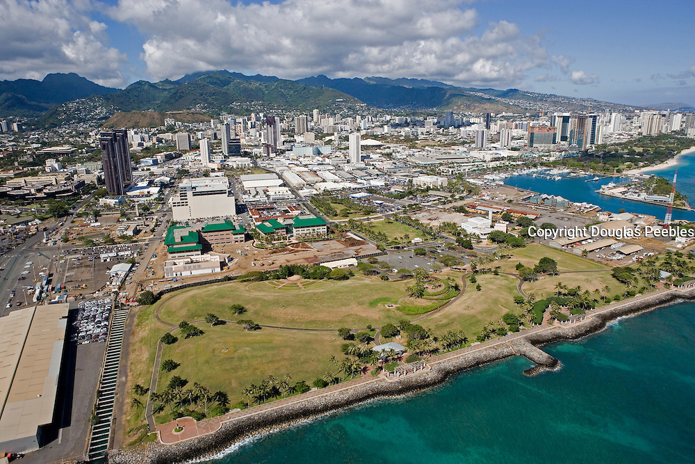 Downtown Honolulu, Oahu, Hawaii<br />
