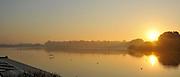 Caversham, Great Britain,  General Views GV's Caversham Lake, GB Rowing,  Training Centre.  {DOW  {DATE} [Mandatory Credit. Peter Spurrier/Intersport Images] Sunrise, Sunsets, Silhouettes