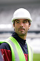 Marc PLASIL - 23.03.2015 - Visite du Stade de Bordeaux -<br /> Photo : Caroline Blumberg / Icon Sport *** Local Caption ***