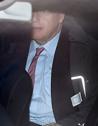 © Licensed to London News Pictures. 08/12/2018. London, UK. Former British Foreign Secretary BORIS JOHNSON is seen being driven away from BBC Broadcasting House after appearing on The Andrew Marr Show. Photo credit: Ben Cawthra/LNP