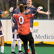 The Baltimore Blast remain undefeated at 11-0 with a 6-4 win vs the Harrisburg Heat.  The win also clinches a berth in the playoffs.
