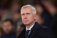 Alan Pardew, the Crystal Palace manager looks on .Barclays Premier league match, Crystal Palace v Sunderland at Selhurst Park in London on Monday 23rd November 2015.<br /> pic by John Patrick Fletcher, Andrew Orchard sports photography.