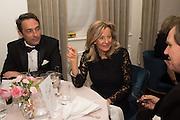 PRINCESS CHANTAL OF HANOVER, Nicky Haslam hosts dinner at  Gigi's for Leslie Caron. 22 Woodstock St. London. W1C 2AR. 25 March 2015