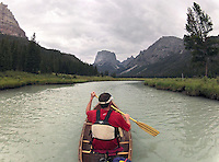 The Upper Green River in the Bridger Wilderness is a prime destination for peaceful paddling away from the noises of putt-putt engines.