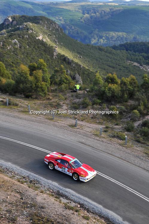 David Gilliver & Nigel Shellshear .1979 Ferrari 308 GTB.Day 4.Targa Tasmania 2009.2nd of May 2009.(C) Joel Strickland Photographics.