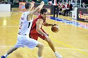 DESCRIZIONE: Casale Monferrato Campionato LNP ADECCO GOLD 2013/2014 Novipiu Casale Monferrato-Aget Imola  <br /> GIOCATORE: Davide Bruttini<br /> CATEGORIA: palleggio equilibrio<br /> SQUADRA: Novipiu Casale Monferrato<br /> EVENTO: Campionato LNP ADECCO GOLD 2013/2014<br /> GARA: Novipiu Casale Monferrato-Aget Imola<br /> DATA: 02/02/2014<br /> SPORT: Pallacanestro <br /> AUTORE: Junior Casale/G.Gentile<br /> Galleria: LNP GOLD 2013/2014<br /> Fotonotizia: Casale Monferrato Campionato LNP ADECCO GOLD 2013/2014 Novipiu Casale Monferrato-Aget Imola<br /> Predefinita: